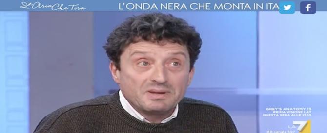 Buttafuoco: è una minchiata speculare sul pericolo fascista (video)