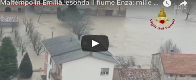 L'Italia nella morsa del maltempo: ecco la situazione dal Piemonte all'Emilia (VIDEO)