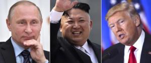 Putin e Trump, in una telefonata l'accordo sul dialogo con Pyongyang?
