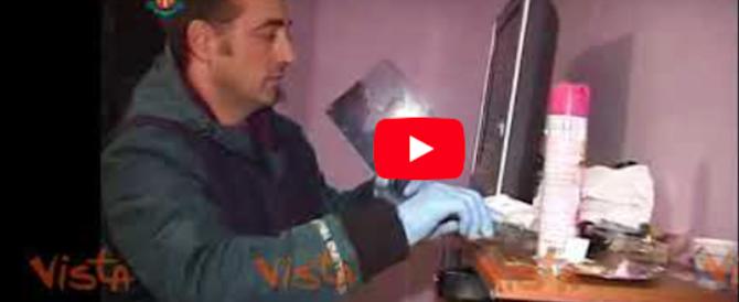 Arrestato mentre va a messa: finisce la latitanza di Guerino Casamonica (video)