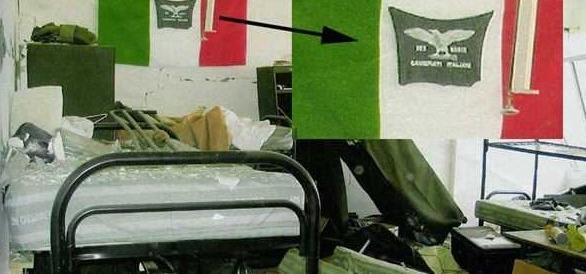 Simbolo neonazi tra i carabinieri? A Nassiriya c'era una bandiera della Rsi