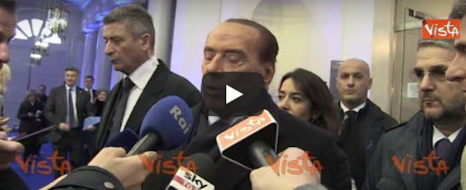 Berlusconi avvisa la Ue: «Siamo soli a fronteggiare l'invasione dall'Africa» (video)