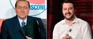 Berlusconi: «Salvini non è aggressivo». La replica: «Non voglio l'Arca di Noè»