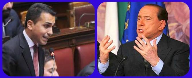 """Berlusconi stronca Di Maio: """"Trovati un lavoro, che è meglio"""""""