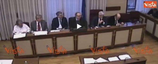 «Oddio, è morto Matteoli!». Brunetta sconvolto dà l'annuncio ai colleghi (video)