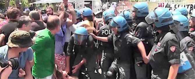 Casale San Nicola, CasaPound: ora difendere gli italiani è un crimine (video)