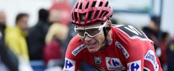 Choc nel mondo del ciclismo: Chris Froome trovato positivo alla Vuelta
