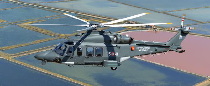 Maltempo, in azione l'Aeronautica: a questo deve servire la forza armata
