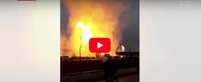 Gas, esplosione in un impianto in Austria: in Italia è stato d'emergenza (video)