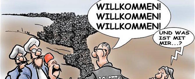 Germania, la Csu si rivolta contro la Merkel: basta clandestini o l'AfD vince