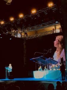 Il momento più atteso: l'intervento di Giorgia Meloni
