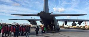 Ora andiamo a prendere i clandestini in Libia con i nostri aerei militari…