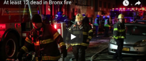 New York, drammatico incendio nel Bronx: 12 vittime. C'è pure un bimbo (video)