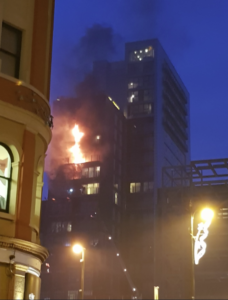 Inferno a Manchester