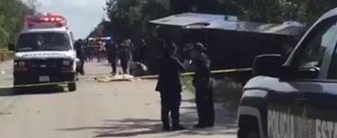 Incidente bus in Messico, la Farnesina rassicura: «Gli italiani sono salvi»