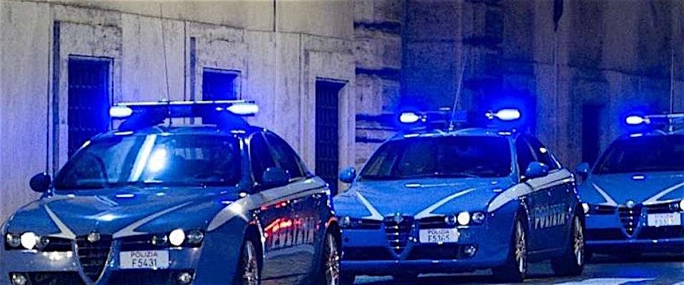 polizia molotov