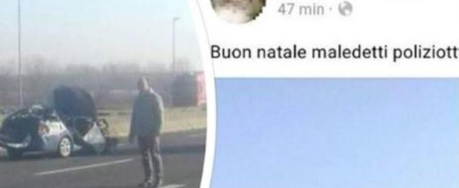 """Incidente in autostrada, morto agente. Su Fb l'insulto: """"Buon natale maledetti poliziotti"""""""