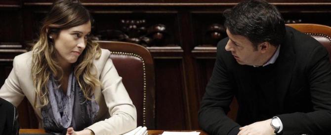Banca Etruria, Gasparri: «Renzi e Boschi travolti dall'evidenza dei fatti»