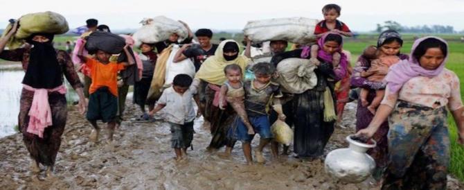 Il Papa pronuncia la parola tabù: la presenza di Dio oggi si chiama Rohingya
