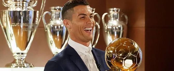 Cristiano Ronaldo vince il Pallone d'Oro 2017. Buffon arriva quarto