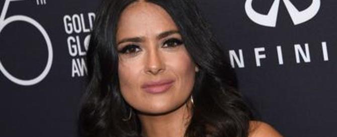 Salma Hayek : «Weinstein è stato un mostro. Ecco che cosa pretendeva da me»