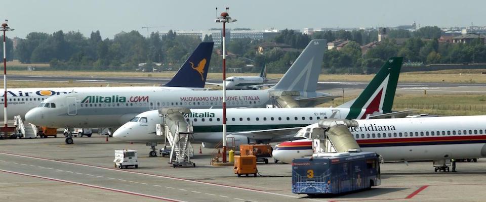 sciopero aereo