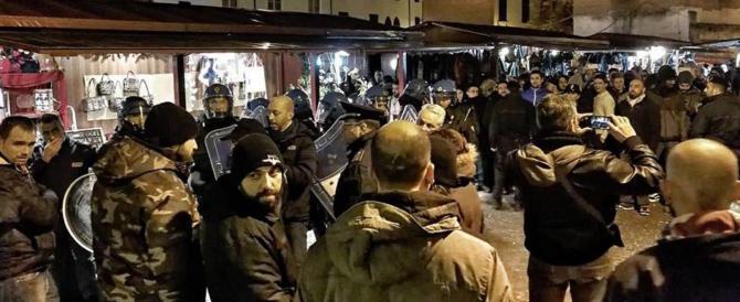 Forlì, scontri al mercatino di Natale tra Forza Nuova e attivisti di sinistra