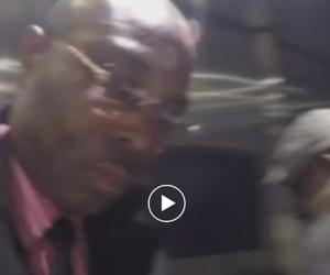 Truffatore africano aggredisce inviato di Striscia la notizia (video)