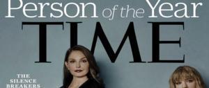 """Molestie, il Time incorona """"personaggio dell'anno"""" le donne che hanno denunciato"""