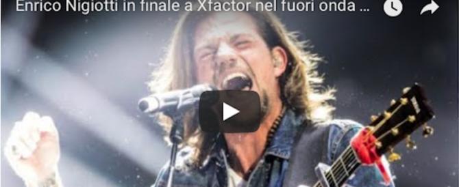 """X Factor, Nigiotti va in finale e il suo """"vaffa"""" fuori onda fa il giro del web (video)"""