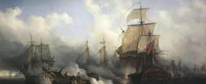 Storia: all'asta la bandiera inglese della vittoria contro Napoleone