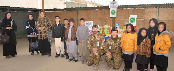 La Brigata Sassari adotta orfanotrofio ad Herat: giocattoli, pannolini, latte