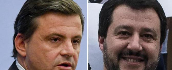 """Calenda provoca: """"Da Salvini proposta fessa"""". Matteo risponde per le rime"""