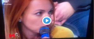 """Santoro invita """"lady CasaPound"""" ma la zittisce quando lei dice una parola… (video)"""