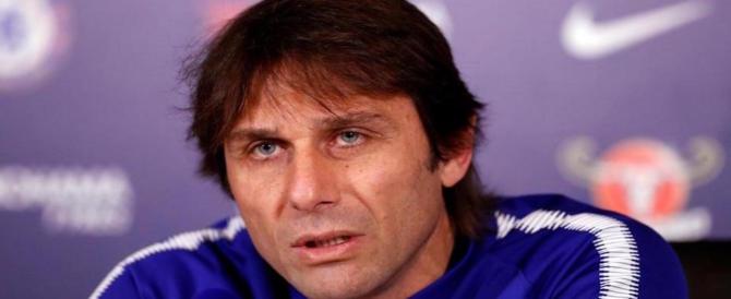 Paura a Londra per Antonio Conte nella sede del Chelsea: ecco cosa è successo