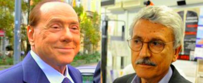 D'Alema: «Renzi si metta l'anima in pace, Berlusconi è più credibile di lui»