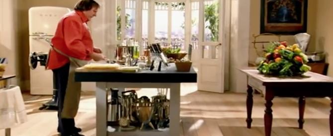 Tv, Depardieu in tour per le cucine d'Europa: in cerca della ricetta che unisce