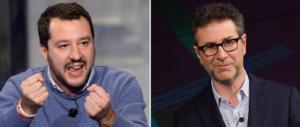 Salvini: «Mai più traditori, il Cav è d'accordo». Poi attacca Fabio Fazio