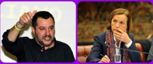La Fornero a Salvini: «Paranoico». E lui: «Ti faremo piangere per davvero»
