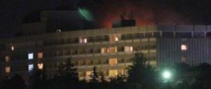 Assalto terroristico all'Hotel Intercontinental di Kabul: 15 morti