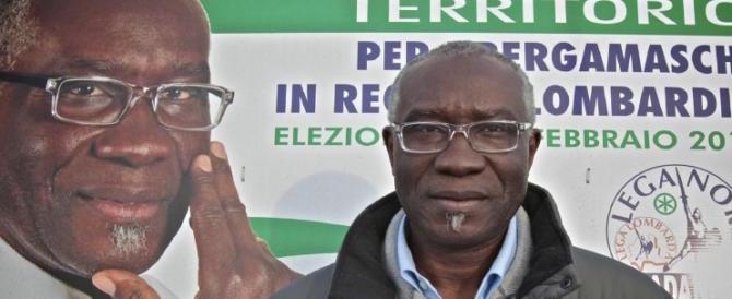 «Le razze? Le ha create Dio»: il leghista nigeriano Iwobi difende Fontana