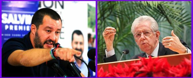 """Salvini: «Non sosterremo mai governi tecnici """"alla Mario Monti"""" né inciuci»"""