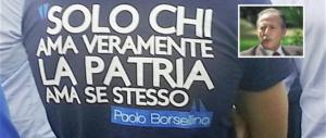 """La Meloni ricorda la nascita di Paolo Borsellino, """"eroe e simbolo dei patrioti"""""""