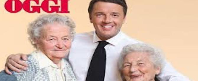 """Il """"Rottamatore"""" disperato si aggrappa alle nonne per risalire nei sondaggi"""