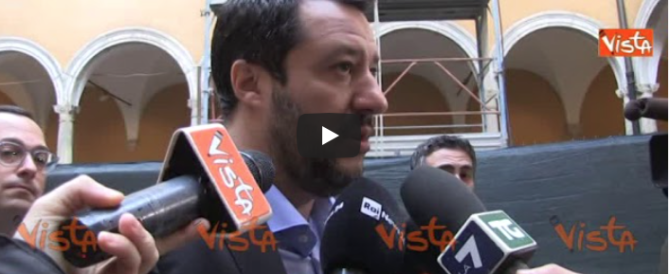 Salvini a Berlusconi: «Via la legge Fornero, patti chiari amicizia lunga» (video)