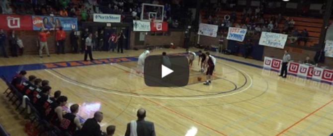 Basket, l'incredibile canestro di Blake Peters a un secondo dalla fine (video)