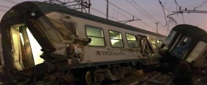 Tragedia a Milano, deraglia il treno dei pendolari: morti e decine di feriti