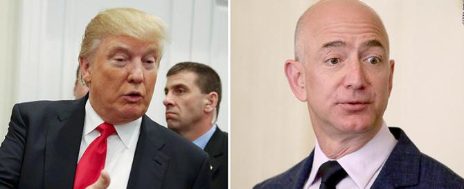 Trump contro Amazon: per abbattere il potere di Bezos gli è venuta un'idea…