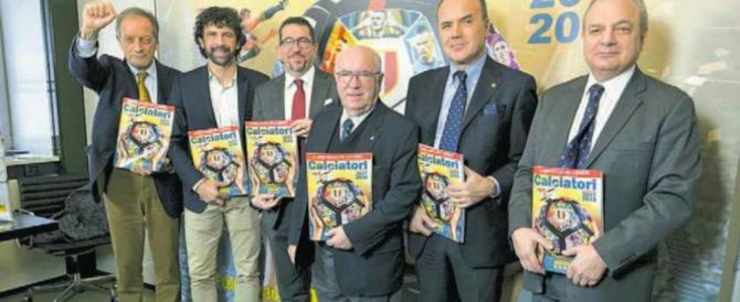 Ulivieri col pugno chiuso presenta l'album Panini, l'ira di Rampelli: «Vergognoso»