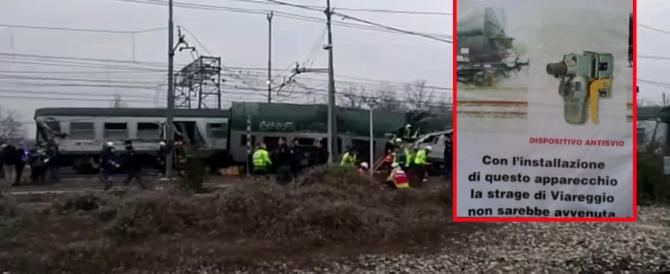 Il treno deragliato? Un altro regalino della Ue: «Bruxelles ci vieta il sistema anti-svio»